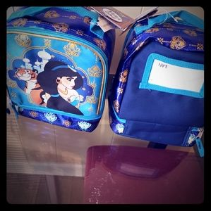 New Girls Disney Princess Jasmine Lunch Bag